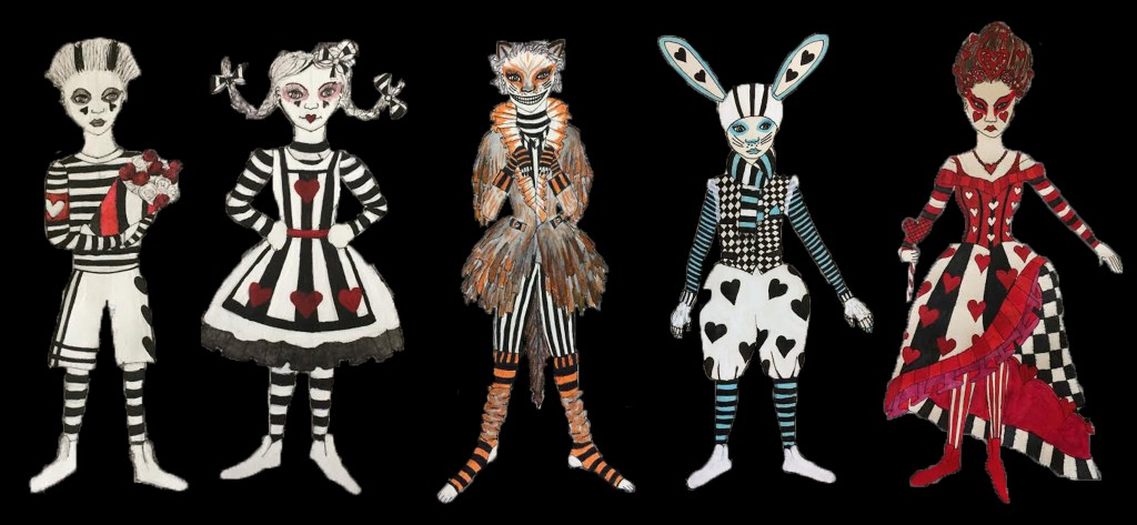 alice and wonderland costumes
